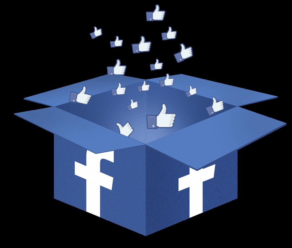 facebook box, facebook, like