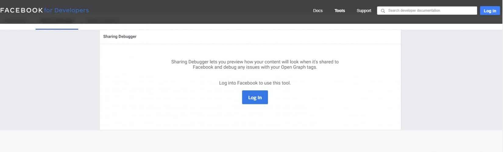 Facebook Opengraph Debugger