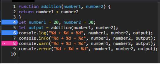 breakpoint javascript debug