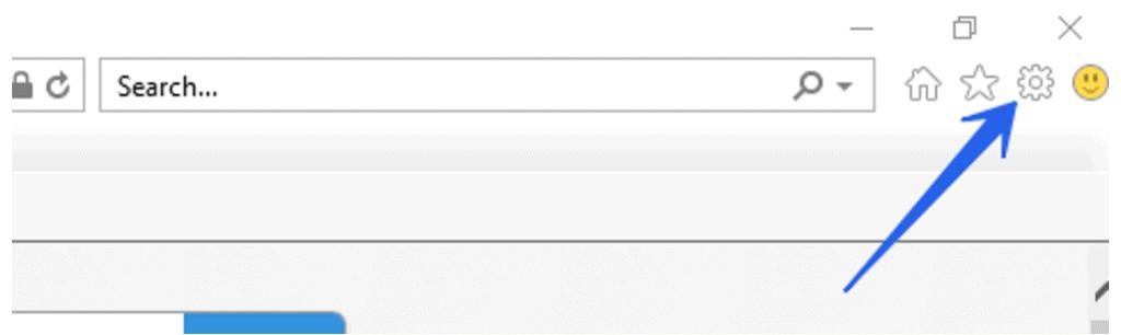 navigate to inspect debug in internet explorer