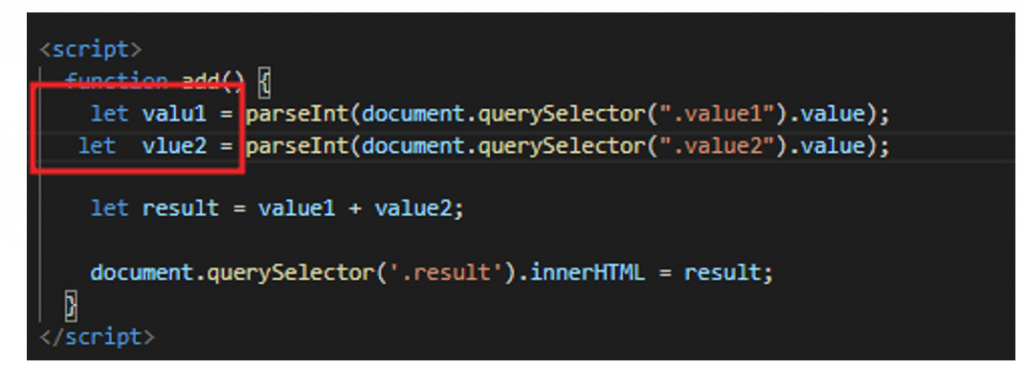 variable values when debug in internet explorer
