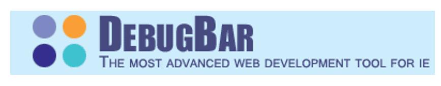 debugbar web development toolbar for internet explorer