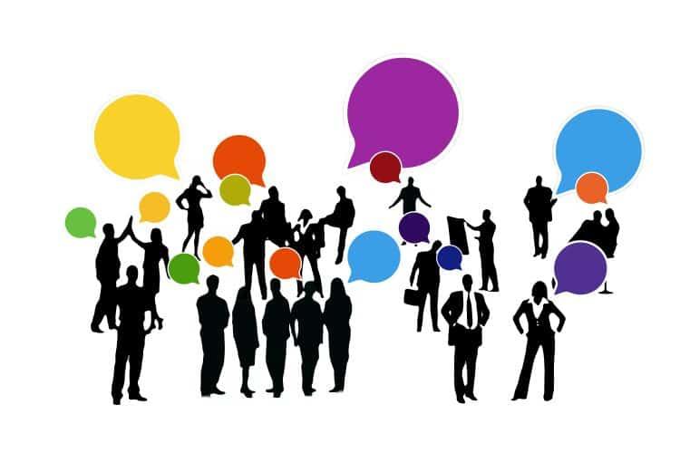 feedback, confirming, businessmen