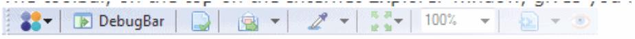 debugbar toolbar