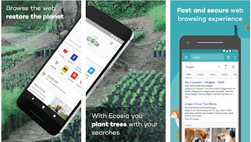 Ecosia-browser