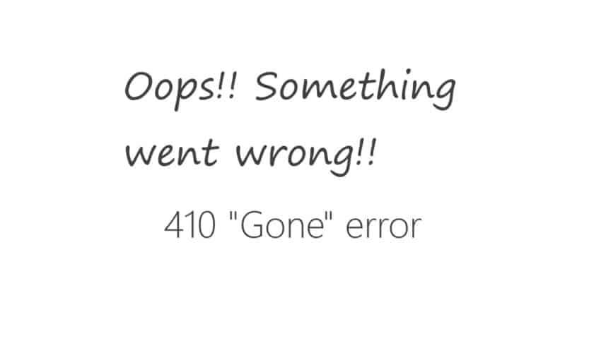http 410 status code
