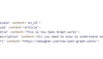 Facebook Open Graph (og tags)