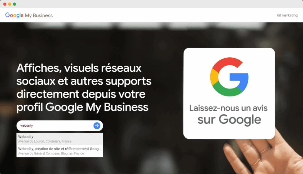 kit marketing google
